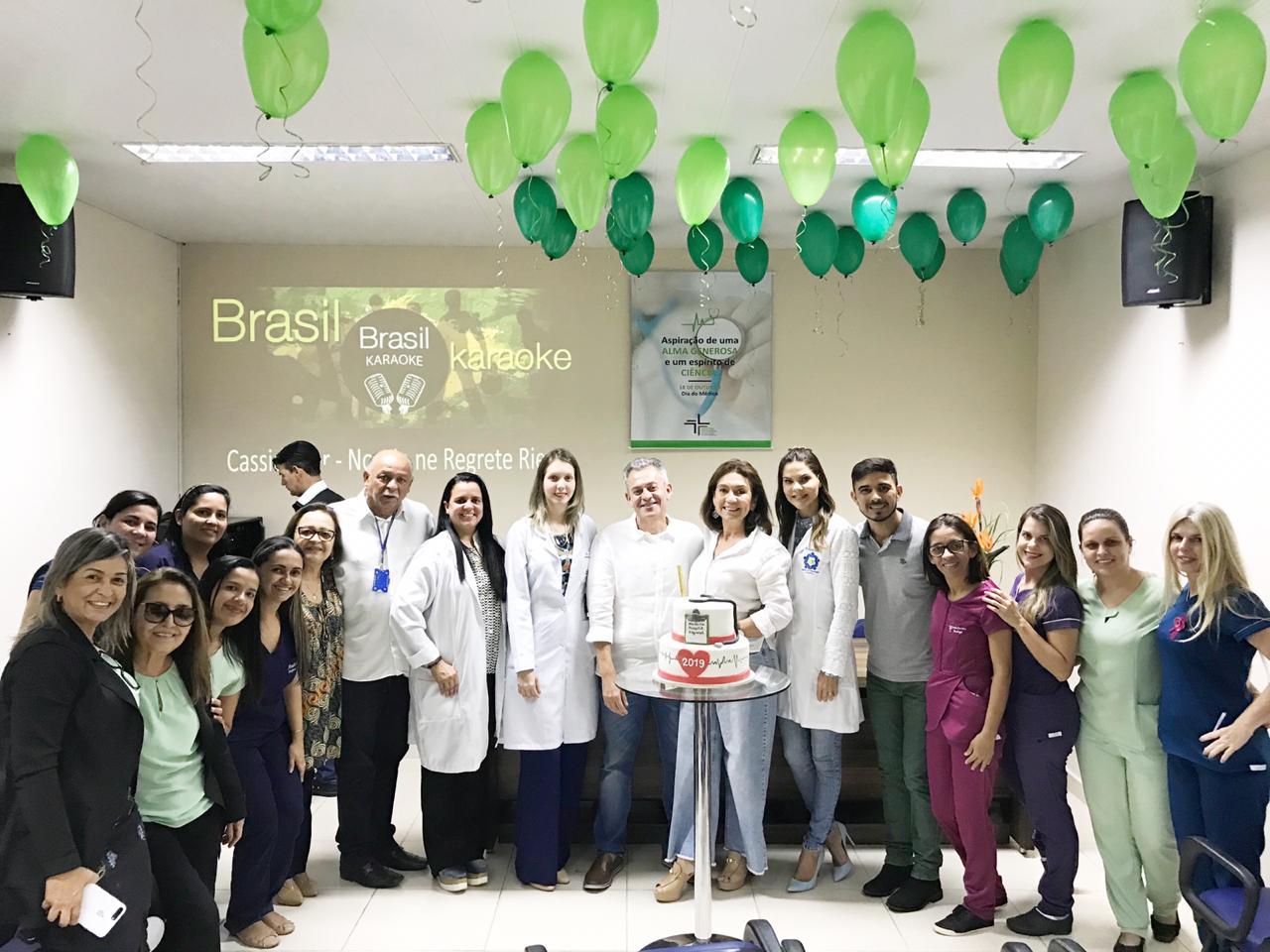 Hospital de Arapiraca comemora Dia do Médico com homenagens