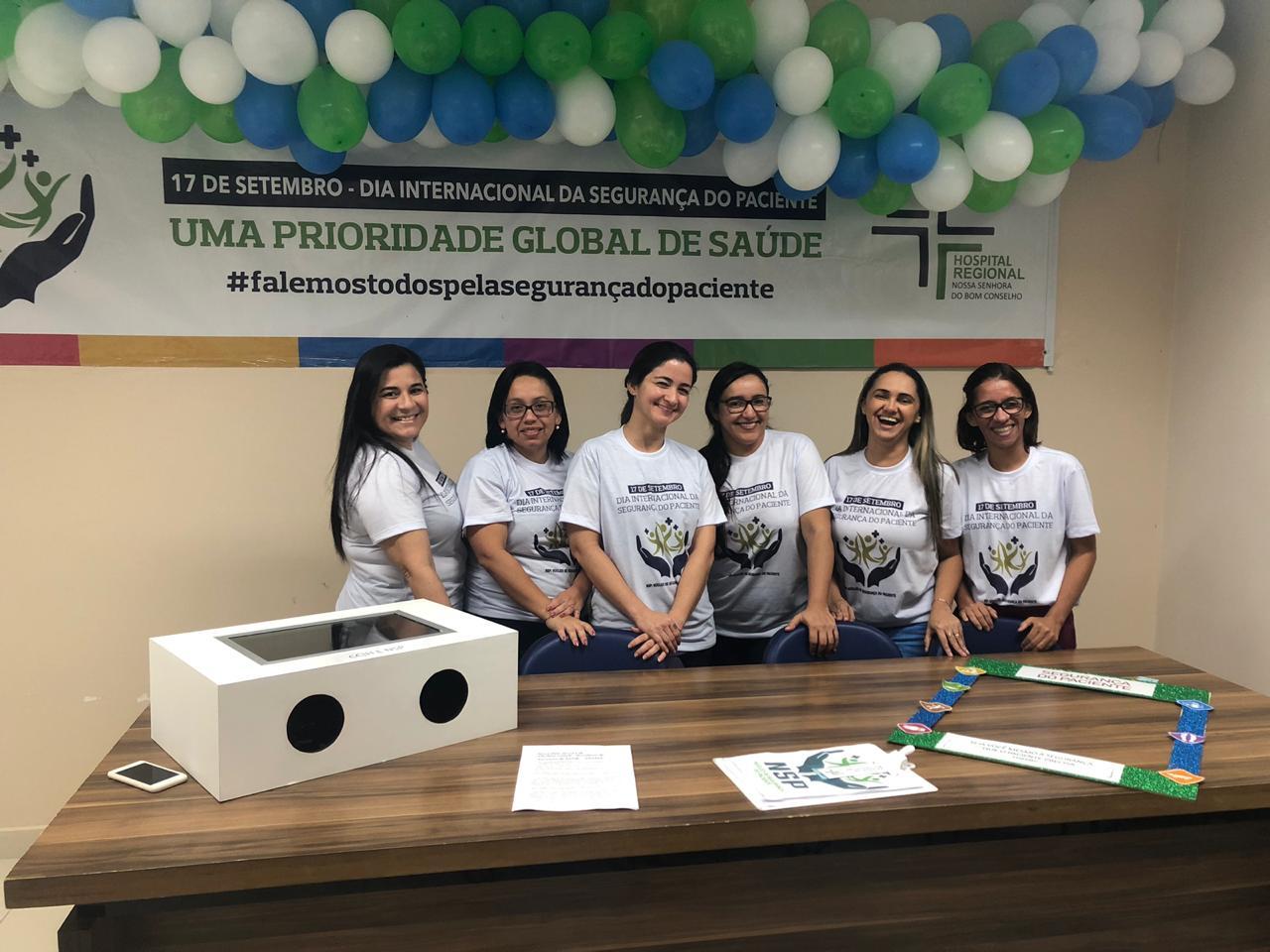 Funcionários do Hospital Regional de Arapiraca fazem paródia sobre Segurança do Paciente