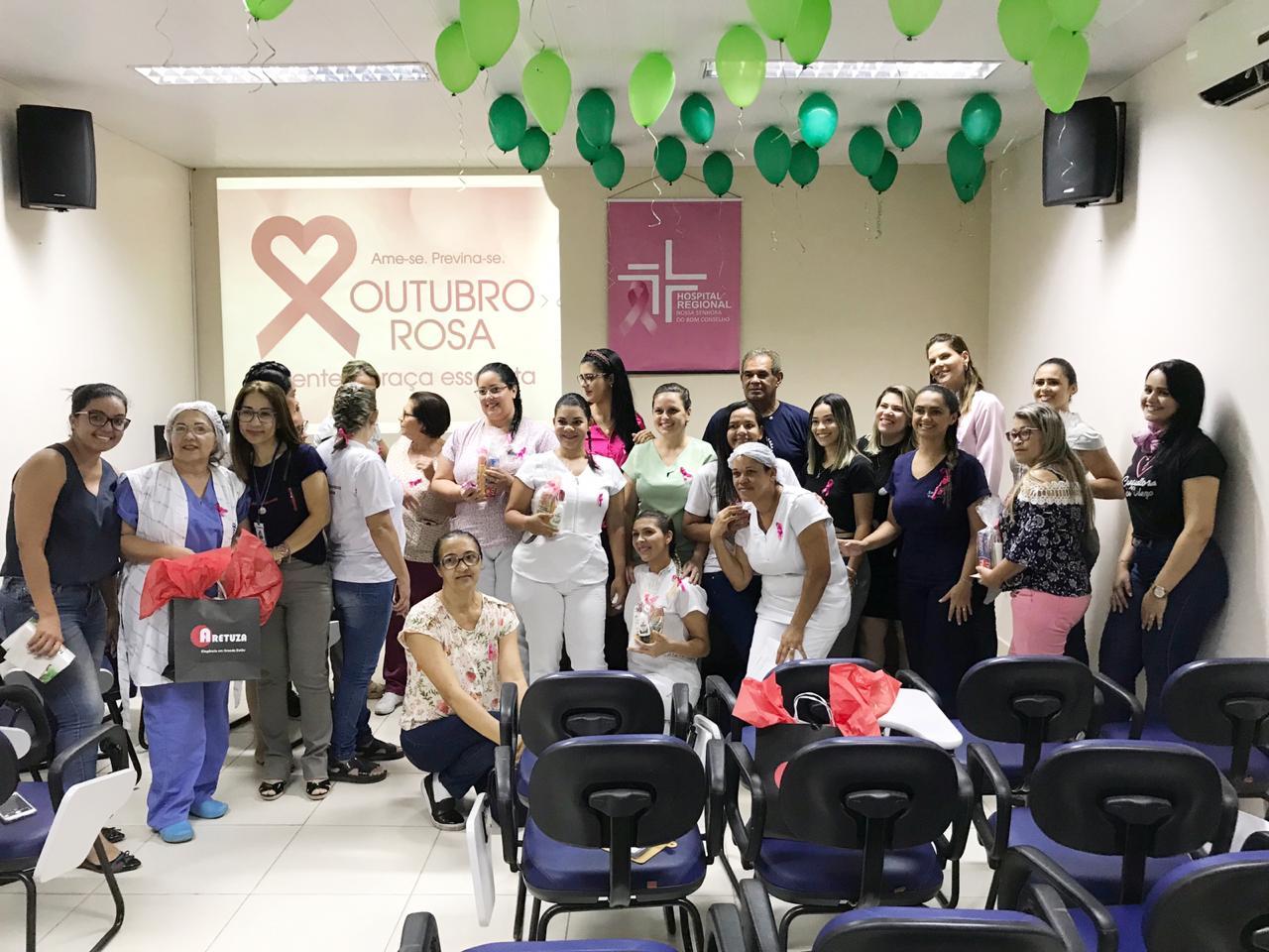 Hospital Regional celebra Outubro Rosa com exames e depoimentos emocionados