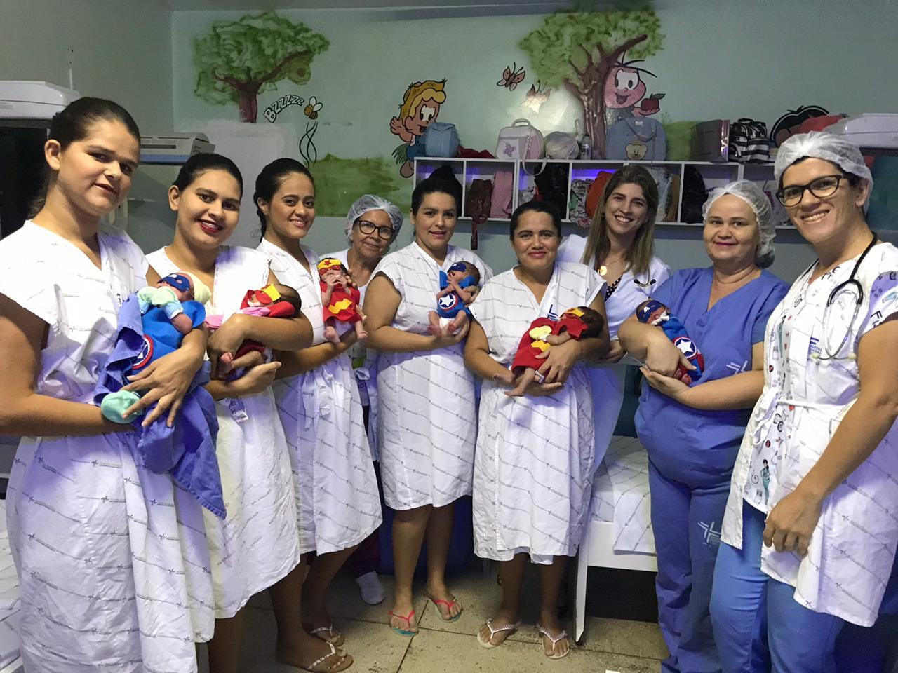 Hospital Regional celebra mês da prematuridade com histórias reais de bebês super-heróis