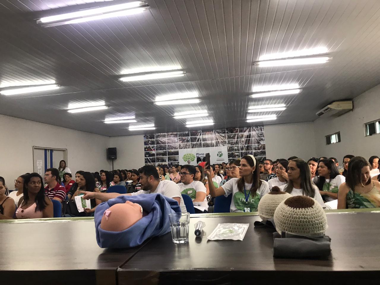 Hospital Amigo da Criança promove capacitação em Arapiraca