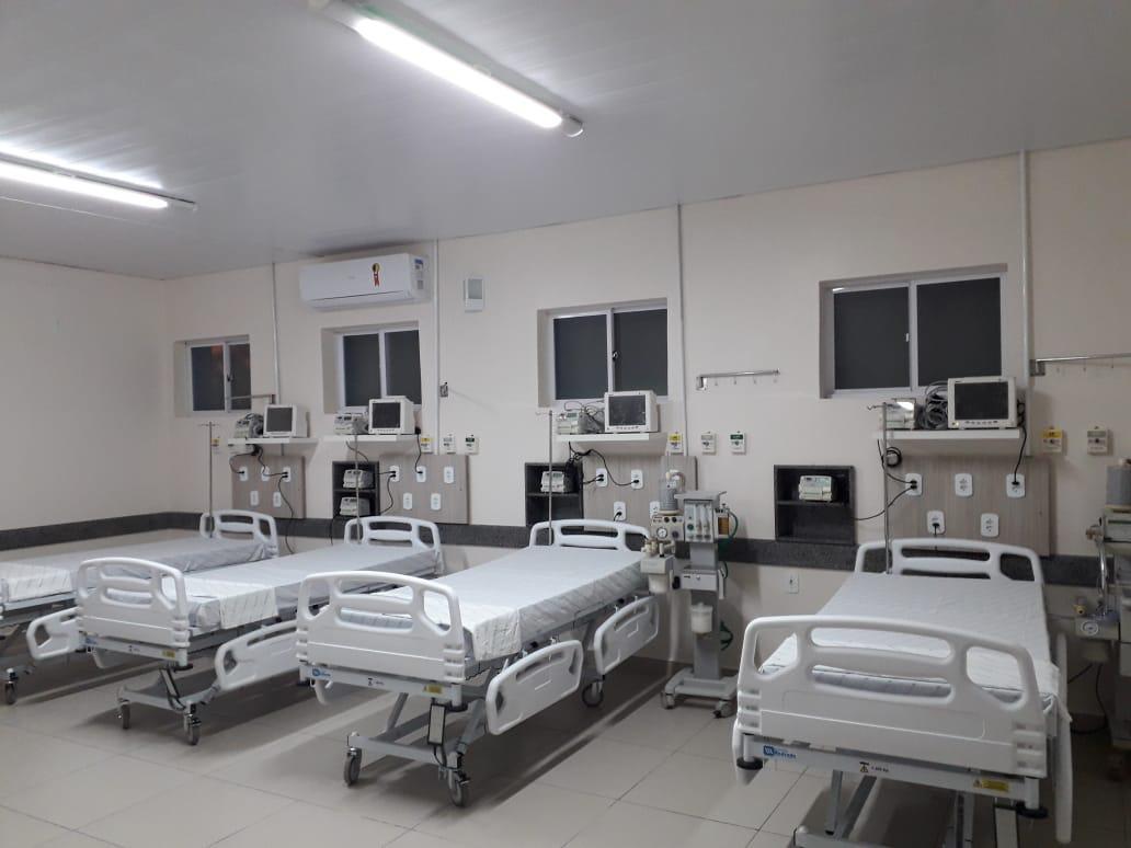 Hospital Regional inaugura novos leitos para atender casos de coronavírus